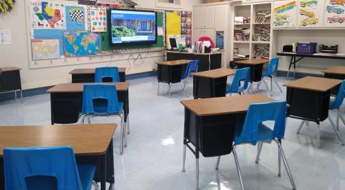 Mrs. Boulware's classroom