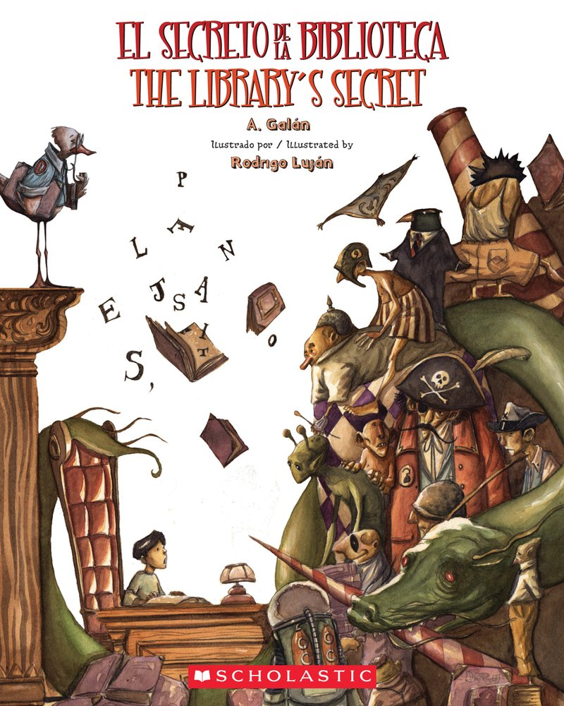El Secreto De La Biblioteca read by Martha Mendoza, Beeson Elementary Principal