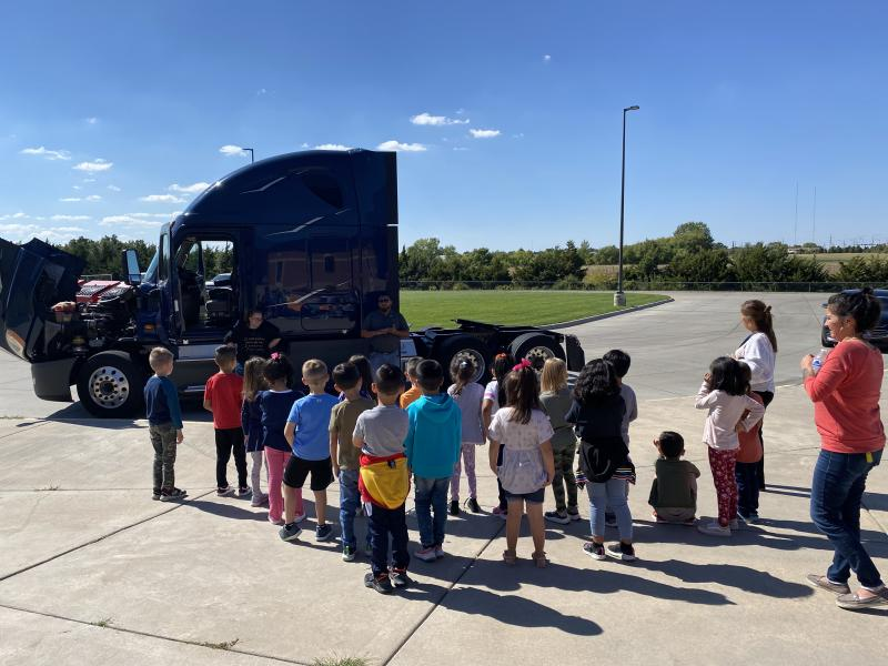 Touch a Truck Event at Ross