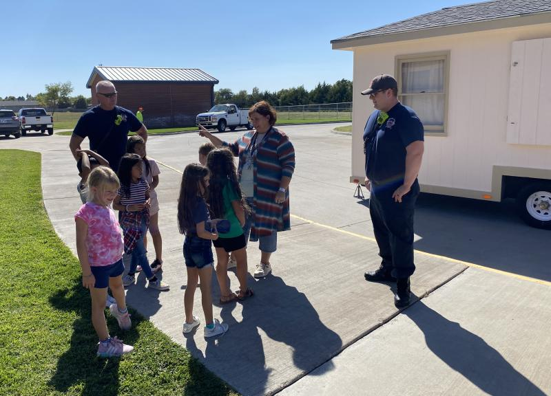 DCFD visits Ross Elementary