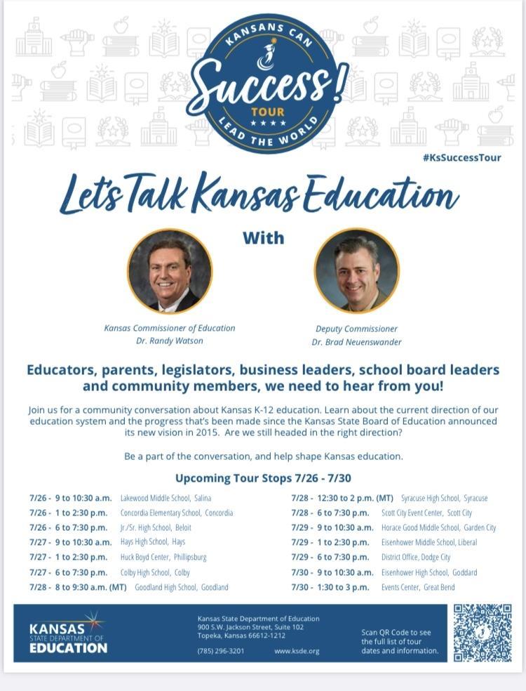 Let's Talk Kansas Education