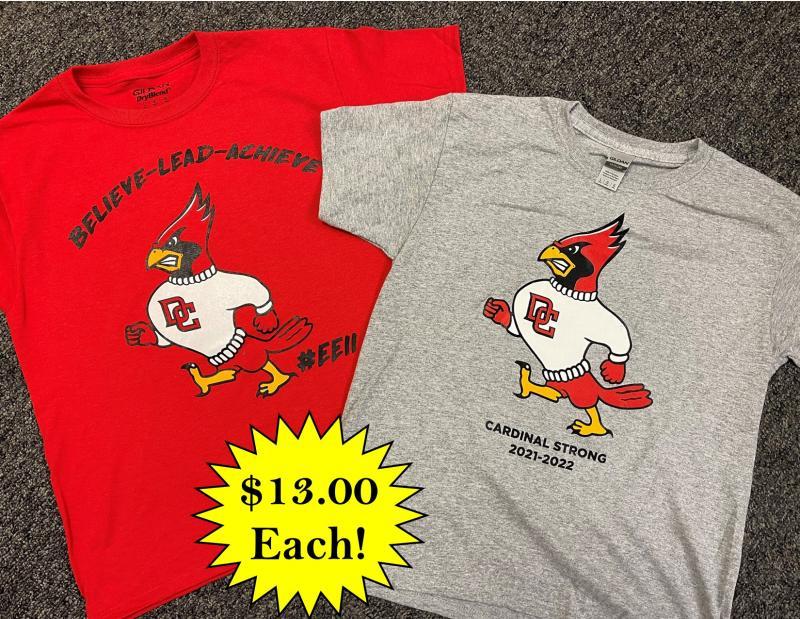 DCMS Spirit Shirts now on sale!