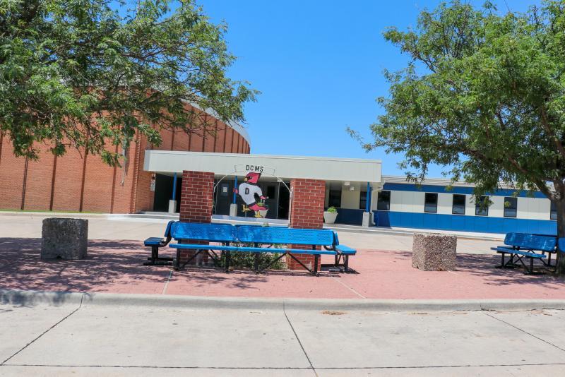 Landscape View facing Dodge City Middle School