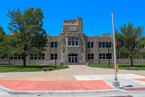 Landscape View facing Comanche Middle School