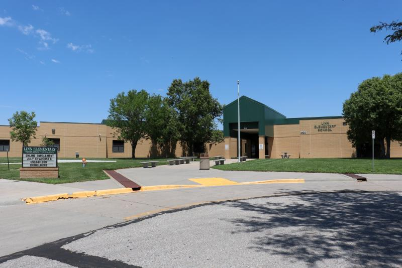 Landscape View facing Linn Elementary