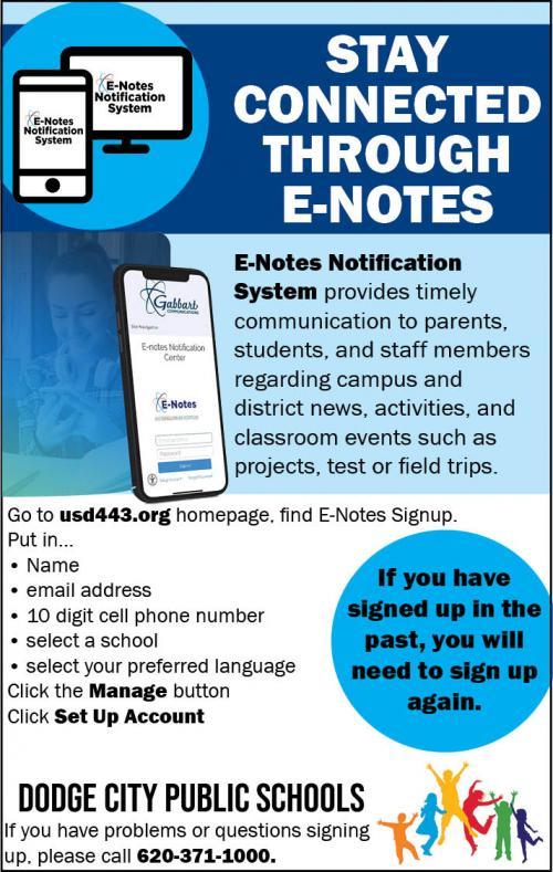 E-Note Flyer