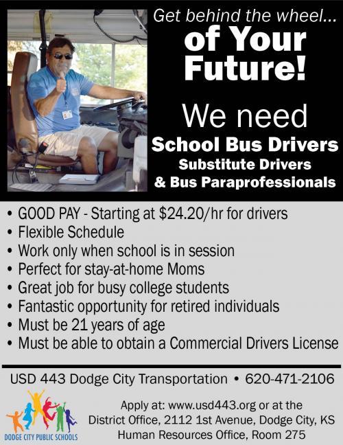 School Bus Driver Flyer