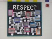 Respect bulletin Board