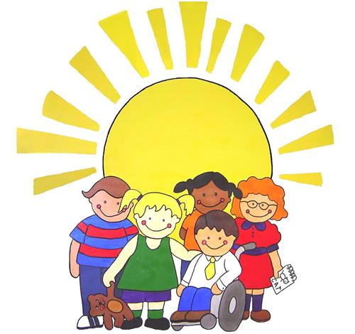 children and sun