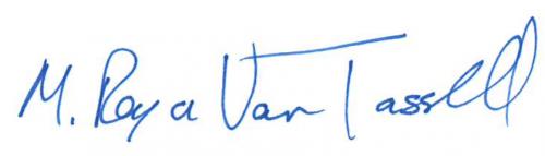 Royce Van Tassell Signature