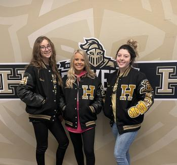 HHS Students Receive Letterman Jackets