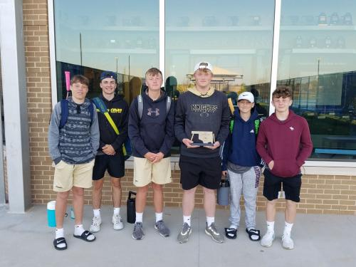 HHS JH Tennis State Qualifiers