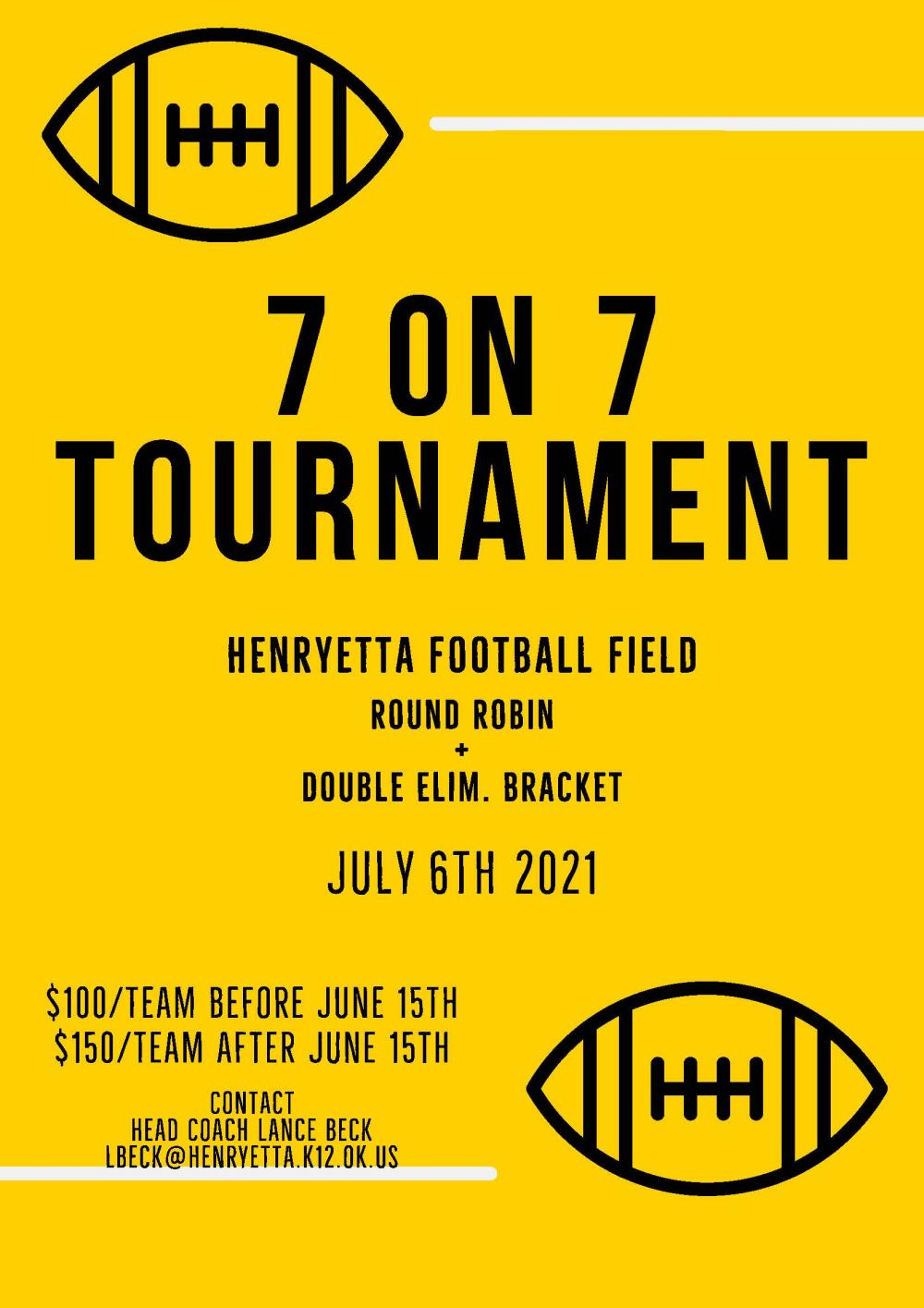 7 on 7 Tournament