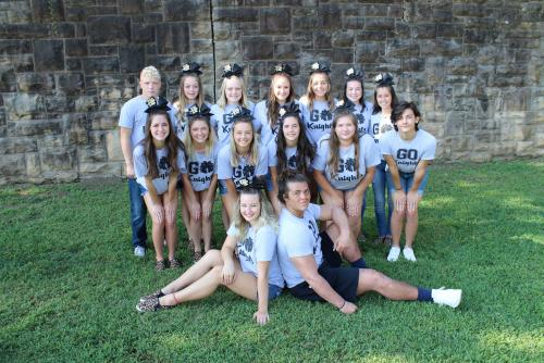 2019-2020 Henryetta High School Cheerleaders