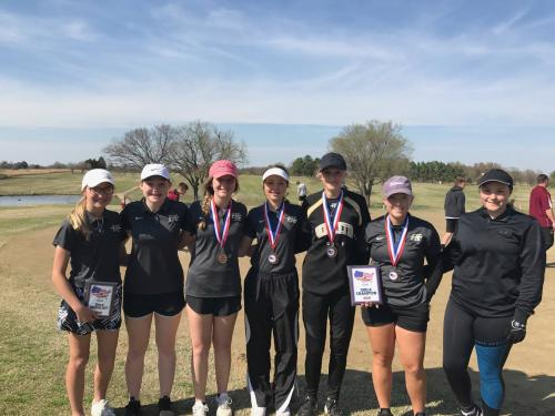 HS Girls Golf - Heartland Conference Champtions