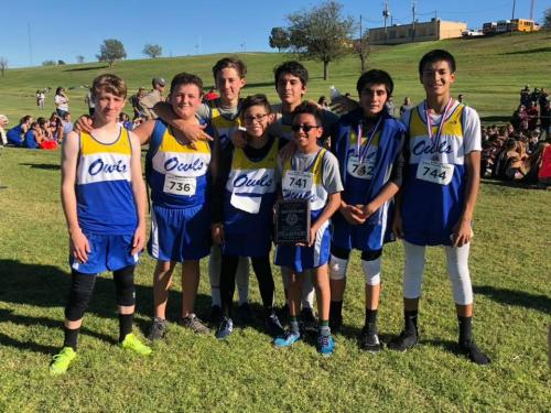 Jr High Owls District Meet