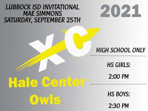 Cross Country Sept 25th