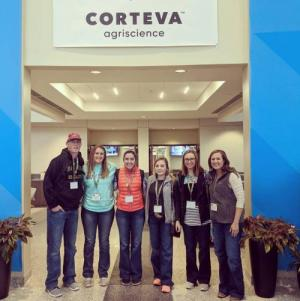 FFA Officers attend Corteva Food Science in Agriculture presentation at FFA National Convention