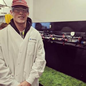 FFA member learns about food science in agriculture