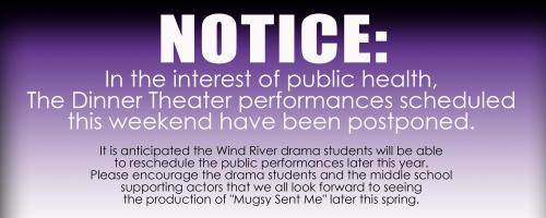 Dinner Theater Canceled