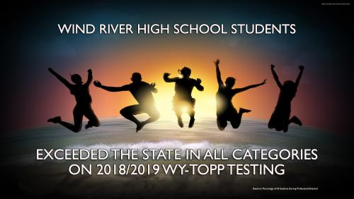 WRHS Students exceed state WY-TOPP