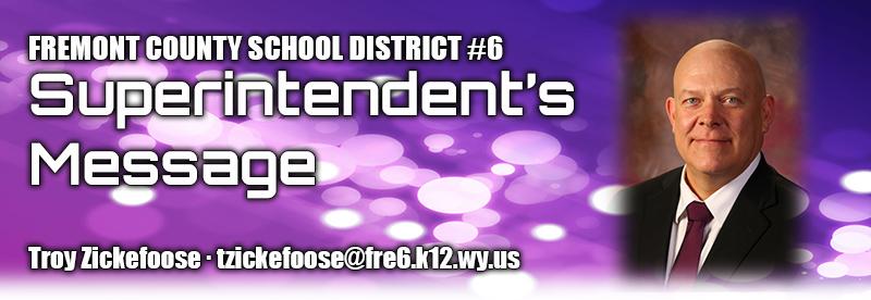 Superintendent Message Header