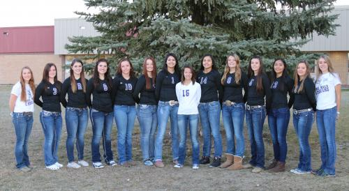 Lady Cougar Volleyball