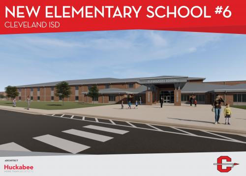 CISD Elementary School number 6 rendering