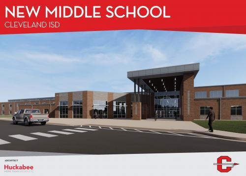 CISD Middle School number 2 rendering