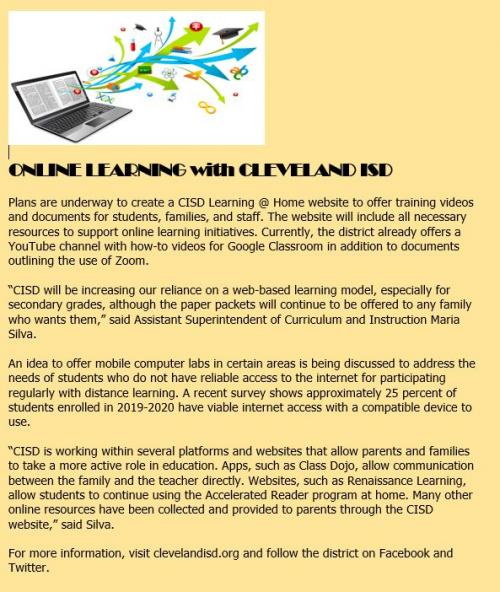 Online Learning with CISD