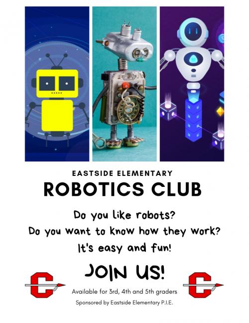 Robotics Club Flyer