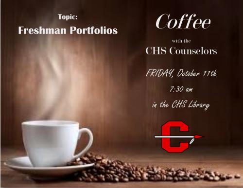 Coffee with the CHS Counselors