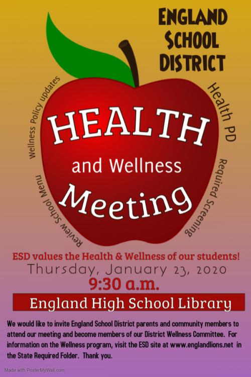 Health and Wellness Meeting 2020