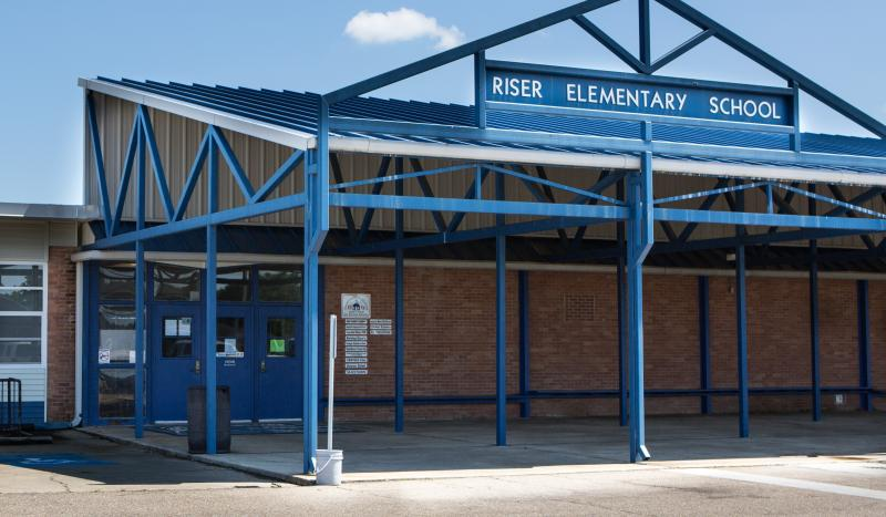 Landscape View facing Riser Elementary
