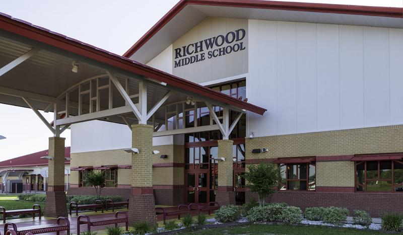 Landscape View facing Richwood Middle