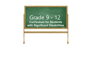 9-12 students with significant disabilities