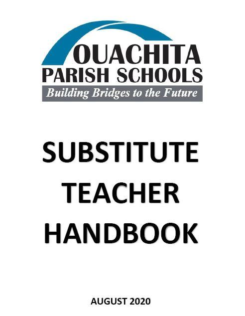 Substitute Teacher Handbook Link