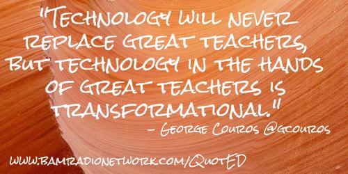 Technology and Teachers together are great