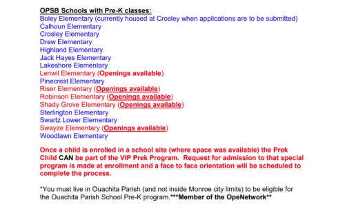 prekschools