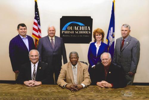 Ouachita Parish School Board Group Photo