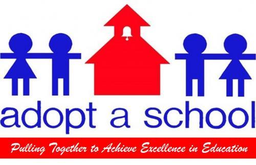 adopt a school logo