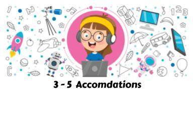 3-5 Accomodations
