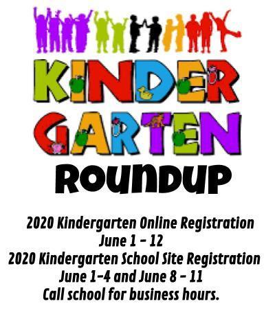 kindergarten roundup info