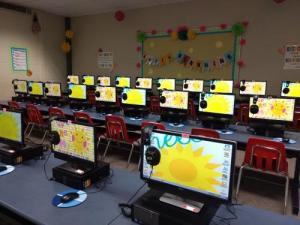 Calhoun Elementary School Computer Lab