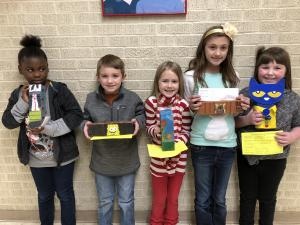 Book Character Brick Decorating Contest 2019