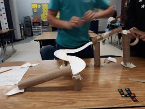 Paper Plate Roller Coasters - STEM Engineering Design Practice