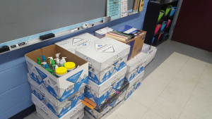 Thanks to all who helped NJHS and Student Council collect these supplies!!!