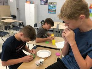 Constructing Chemical Reaction Volcanoes