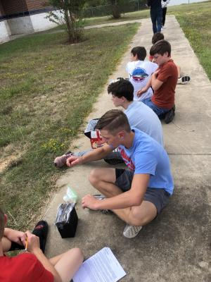 Testing Our Solar Ovens