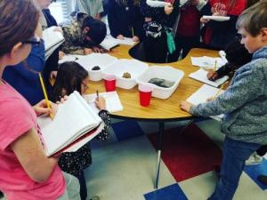 Taking Notes During A Science Experiment